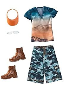 Ken Fashionistas Clothes: Hawaiian Hiking Outfit