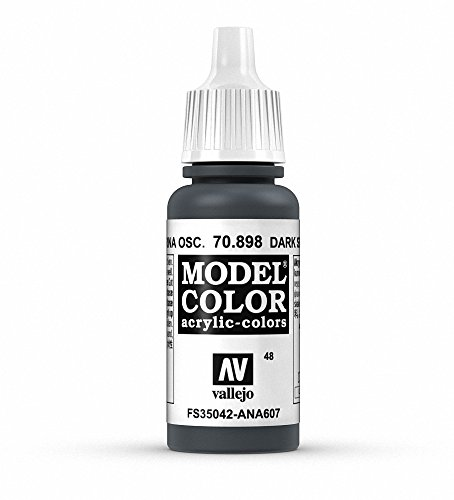 Vallejo Dark Sea Blue Model Color Paint, 17ml