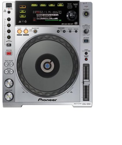 Best Review Of Pioneer CDJ-850 Professional Multi-Format Media CD/MP3 Player With USB
