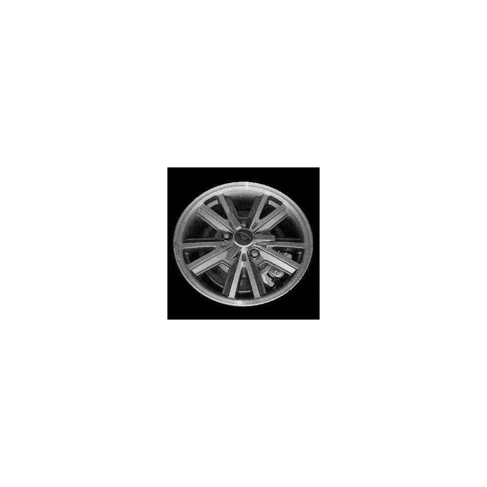 05 FORD MUSTANG ALLOY WHEEL RIM 16 INCH, Diameter 16, Width 7, Lug 5 (5 SPLIT SPOKES), MACHINED WITH GREY VENTS, 1 Piece Only, Remanufactured , (center cap not included) (2005 05) ALY03588U35