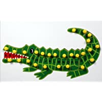 Little Genius Alphabets Alligator, Multi Color