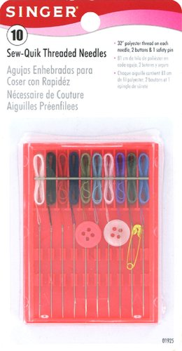 Singer Sew-Quik Threaded Hand Needle Kit (Threaded Sewing Needles compare prices)