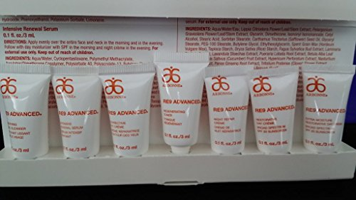 Arbonne Re9 Advanced Anti-Aging Skin Care Sample Sets / Travel Sets ~ Set of 5 Complete 7-Piece Sample Sets. (Arbonne Re9 Night Cream compare prices)