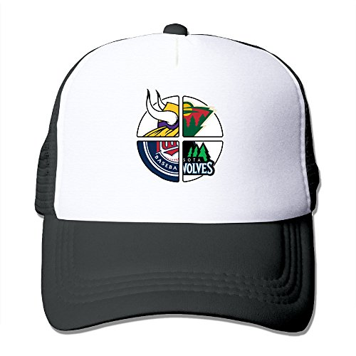 lneir-minnesota-sports-football-logo-mixed-cotton-hats-camping-snapback-hat-for-outdoor-sports-black
