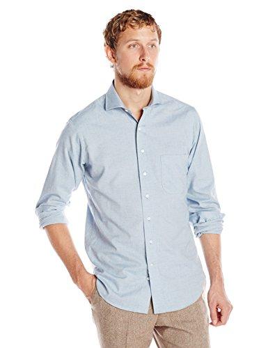 Carson street clothiers men s lightweight flannel dress for Men s lightweight flannel shirts