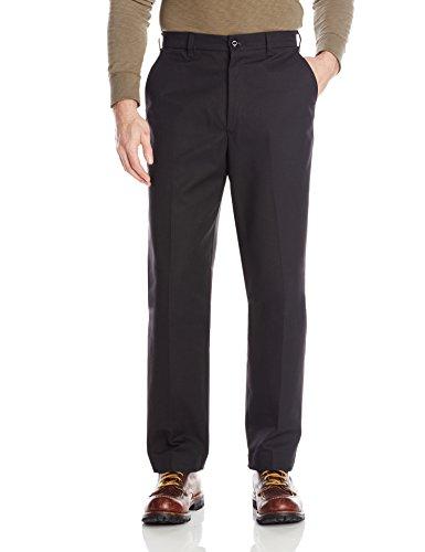 Red Kap Men's Wrinkle-Free Work Pants, Black, 35x32 (Free Works compare prices)