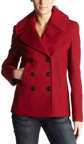 Fleet Street Women's Melton Coat
