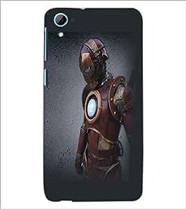HTC DESIRE 826 SUPERHERO Designer Back Cover Case By PRINTSWAG