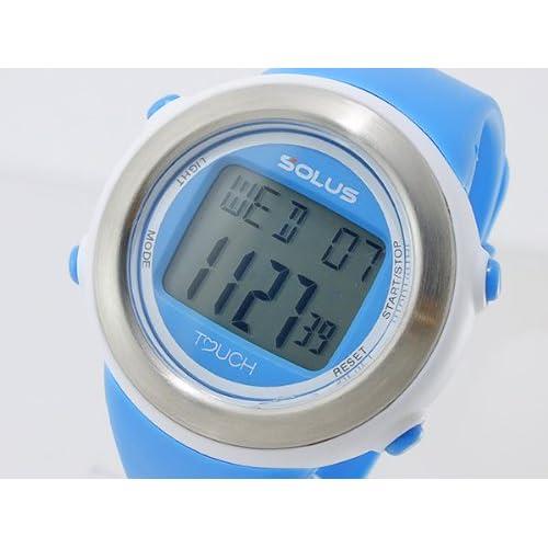 ソーラス SOLUS デジタル ユニセックス 心拍計測機能付き デジタル 腕時計 01-850-005