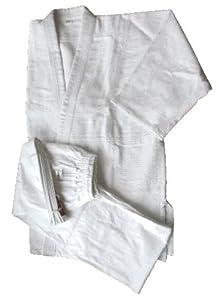 mittelschwerer Judoanzug Basic - für Kinder und Erwachsene, Gr. 100 cm