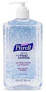 PURELL 3023-12 Advanced Instant Hand Sanitizer, 20 fl. oz. Pump Bottle (Case of 12)