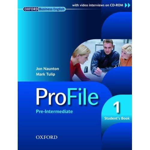 oxford business english profile 1 pre intermediate   student s book jon amp mark tulip