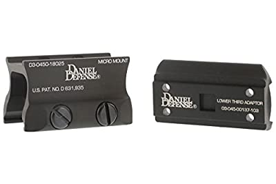 Daniel Defense Aimpoint Micro Mount w/ Spacer - 03-045-18025 from RSR Group, Inc