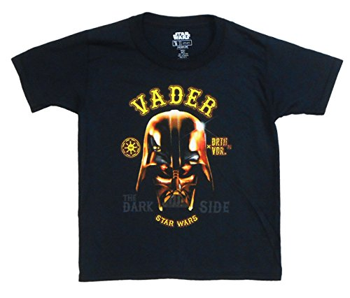 "Star Wars Boys Youth Darth Vader ""The Dark Side"" T-Shirt"