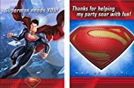 Superman: Man of Steel Invitations &…