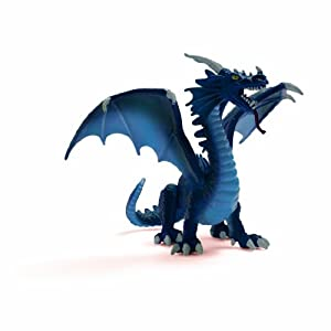Amazon.com: Schleich Blue Dragon Toy Figure: Toys & Games
