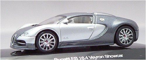 AUTOart 1:64 (approx 3 inches) Die Cast Bugatti EB 16.4 Veyron Genf 2003 Silver 20902 (japan import)