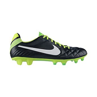 Nike Tiempo Legend IV - Black Electric Green Whi by Nike