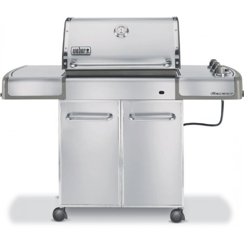 Weber Genesis S 310 >> Grill Parts: Weber Genesis S-310 LP Gas Grill - Stainless Steel