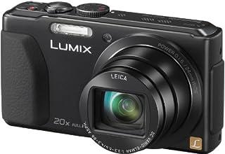 """Panasonic Lumix DMC-TZ40EF-K Appareil photo numérique Taille d'écran 3""""  (7,5) Zoom optique 20x Noir"""