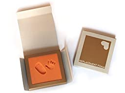Replacement Foam for: Baby\'s 1st Step · Babyfootprint Kit