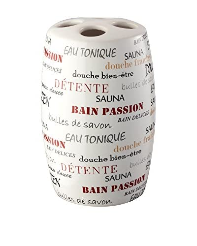 Bisk Vaso Baño Words Blanco