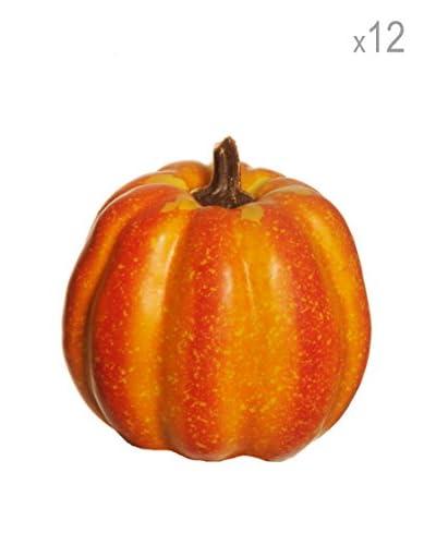 Evergreens 12 Zucche Arancione 11 Cm