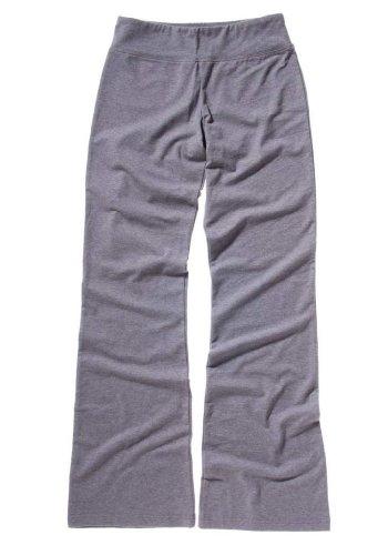Bella Cotton Spandex Fitness Yoga Pant - Deep Heather 810 L front-999297