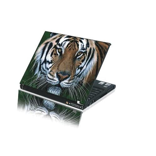 15.4 Laptop Notebook Skins Sticker Cover H233 Tiger