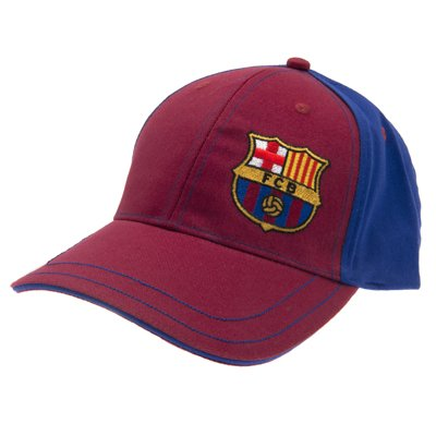 Official FC Barcelona Baseball Cap - A great gift / present for men, boys, sons, husbands, dads, boyfriends for Christmas, Birthdays, Fathers Day, Valentines Day, Anniversaries or just as a treat for and avid football fan