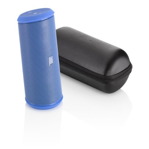 Jbl Flip 2 Portable Wireless Bluetooth Speaker With Powerbank Built-In Mic (Blue)