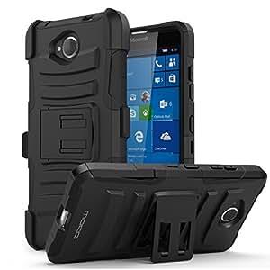Amazon.com: Lumia 650 Case - MoKo [Heavy Duty] Full Body Rugged