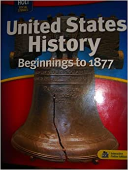 Social studies book 7th grade united states history