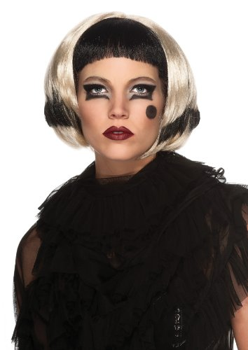 Rubie's Costume Co Women's Lady Gaga Two-Tone Wig