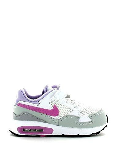 Nike Air Max ST Kids Mädchen Kleinkinder Turnschuhe/Schnürschuhe Casual Sportschuhe Schuhe, Weiß - White/Purple - Größe: 22