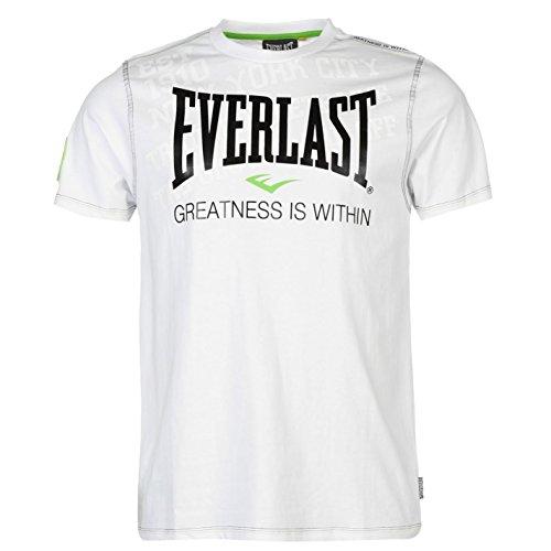 Everlast -  T-shirt - Maniche corte  - Uomo bianco Small