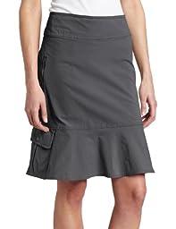 Royal Robbins Women\'s Discovery Skirt (Charcoal, 2 )