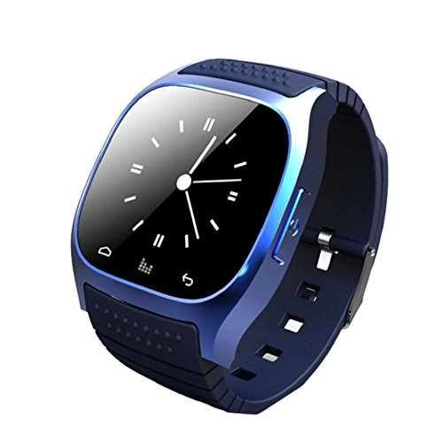Towallmark(Tm)Bluetooth Wrist Smart Phone Watch For Ios Android Samsung Iphone Htc (Blue)