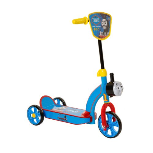 2016 Hot Toy List: Rated Kid-Tested and Parent-Approved (Parents Magazine / Amazon) Dynacraft 6-Inch Thomas 3 Wheel Scooter, Blue/Yellow/Red