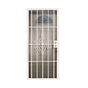 Leslie locke 50730x80nw laguna 30 inch by 80 inch security for 30 inch storm door