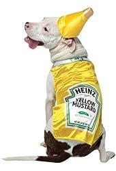 Cat & Dog Costume Heinz Mustard Small