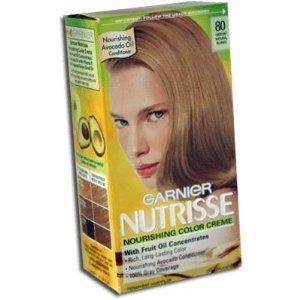 Garnier Nutrisse Permanent Creme Haircolor, 63 Natural Light Brown,1 ea by Garnier Nutrisse Hair Color