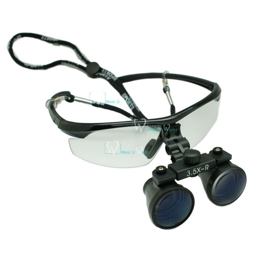 Dental Lab Surgical Medical Binocular Eye Loupe Glass 3.5X Amplification Magnifier