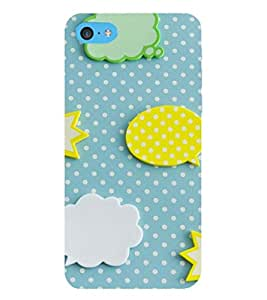 EPICCASE clouds and stars Mobile Back Case Cover For Apple iPod Touch 6 (Designer Case)
