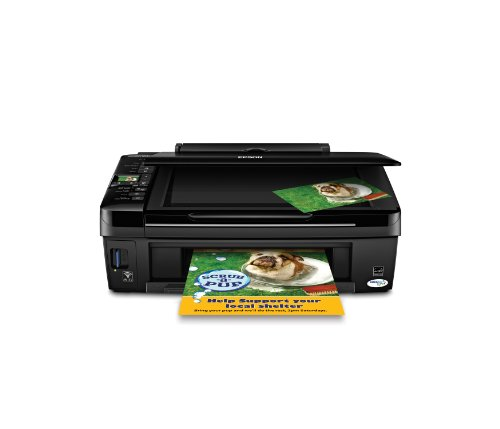 Epson Stylus NX420 Color Ink Jet All-in-One Printer (C11CA80201)