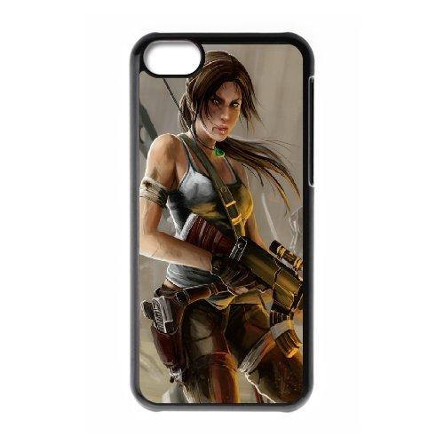 Generic Case Tomb Raider Lara Croft For iPhone 5C Q9Q813237