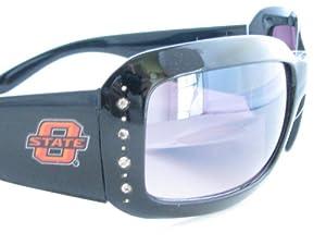 Oklahoma State Cowboys OSU Black Fashion Crystal Sunglasses S4JT by Sports Accessory Store