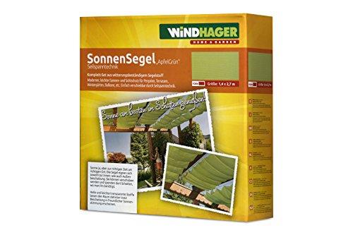 Kit de toldo para pérgola Windhager 10869 270 x 140cm, verde manzana