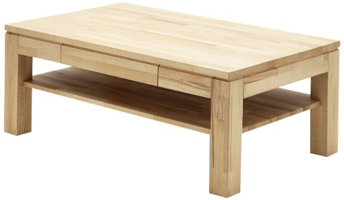 Elegant Robas Lund Julian Coffee Table Tabletop and Drawers x x cm Beech