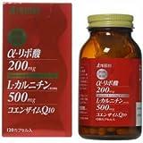 浅田飴 リポ酸+カルニチン+CoQ10 120カプセル